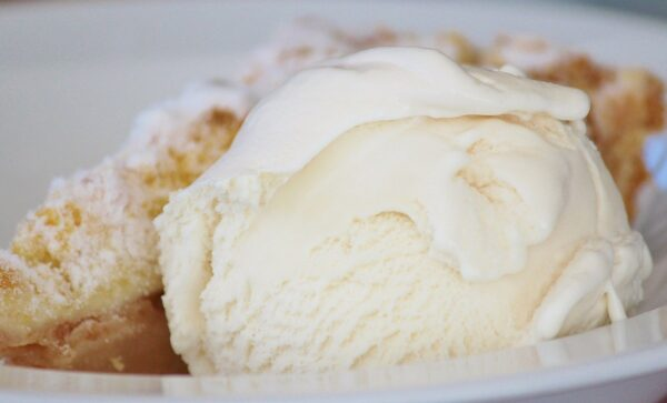 ice cream, ice, dessert