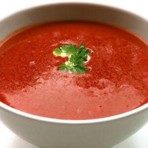 soup, cream soup, tomato soup