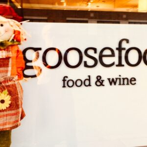 goosefoot® food and wine dine-in 6:00 pm